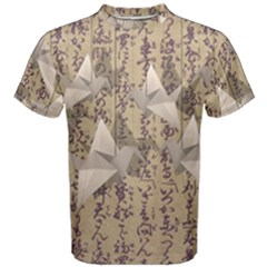 Paper cranes Men s Cotton Tee