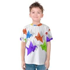 Paper cranes Kids  Cotton Tee