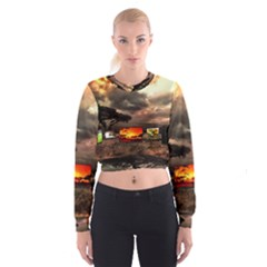 Africa Women s Cropped Sweatshirt
