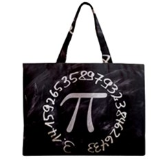 Pi Zipper Mini Tote Bag