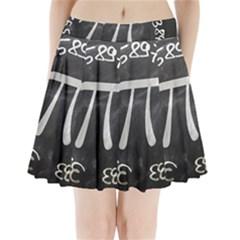 Pi Pleated Mini Skirt