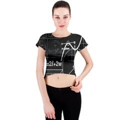 School board  Crew Neck Crop Top