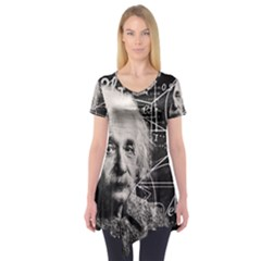 Albert Einstein Short Sleeve Tunic