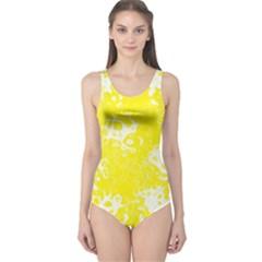Pattern One Piece Swimsuit