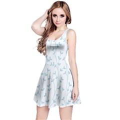 Pattern Reversible Sleeveless Dress
