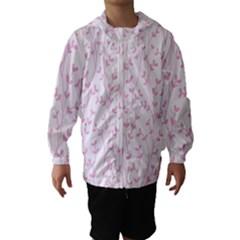 Pattern Hooded Wind Breaker (Kids)