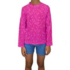 Pattern Kids  Long Sleeve Swimwear