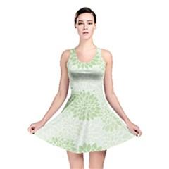 Floral pattern Reversible Skater Dress