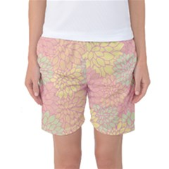 Floral pattern Women s Basketball Shorts