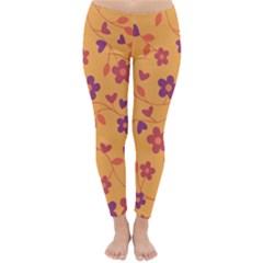 Floral pattern Classic Winter Leggings