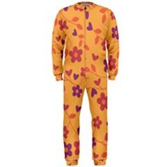 Floral pattern OnePiece Jumpsuit (Men)