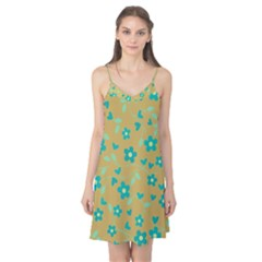Floral Pattern Camis Nightgown