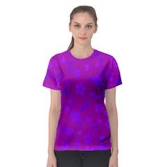 Floral pattern Women s Sport Mesh Tee