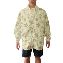 Floral pattern Wind Breaker (Kids)