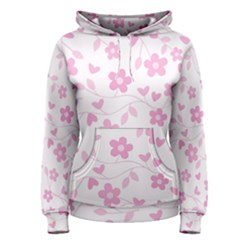 Floral pattern Women s Pullover Hoodie