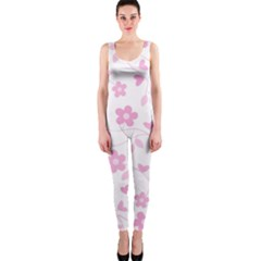 Floral pattern OnePiece Catsuit