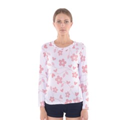 Floral pattern Women s Long Sleeve Tee