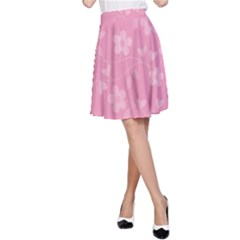 Floral pattern A-Line Skirt