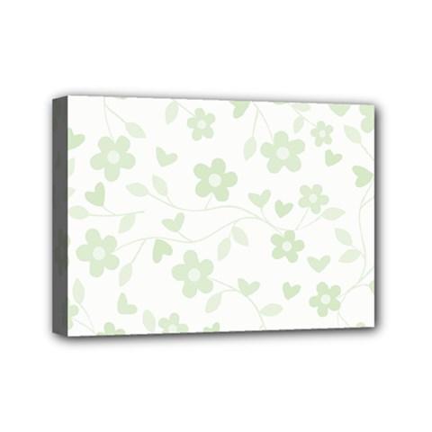 Floral pattern Mini Canvas 7  x 5