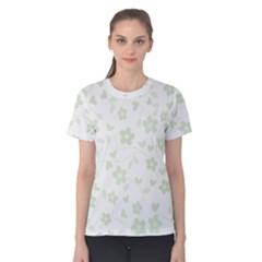 Floral pattern Women s Cotton Tee