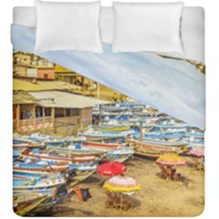Engabao Beach At Guayas District Ecuador Duvet Cover Double Side (King Size)