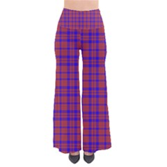 Pattern Plaid Geometric Red Blue Pants