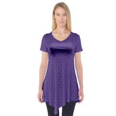 Pattern Short Sleeve Tunic