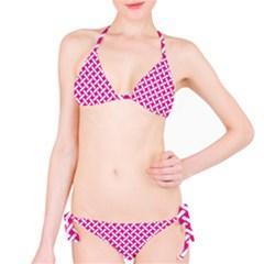 Pattern Bikini Set
