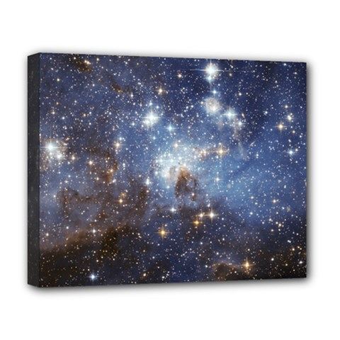 Large Magellanic Cloud Deluxe Canvas 20  x 16