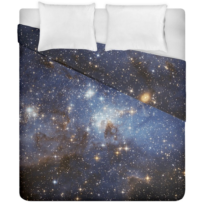 Large Magellanic Cloud Duvet Cover Double Side (California King Size)