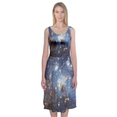Large Magellanic Cloud Midi Sleeveless Dress