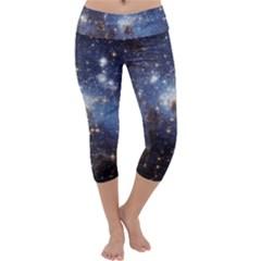 Large Magellanic Cloud Capri Yoga Leggings