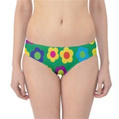 Floral pattern Hipster Bikini Bottoms