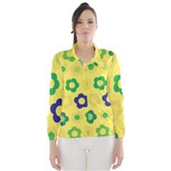 Floral pattern Wind Breaker (Women)