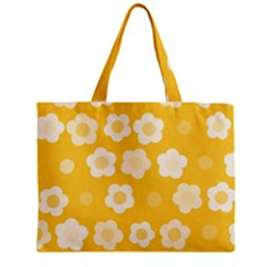 Floral pattern Zipper Mini Tote Bag