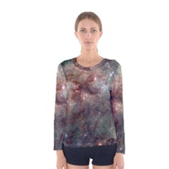 Tarantula Nebula Women s Long Sleeve Tee