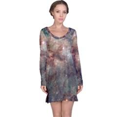 Tarantula Nebula Long Sleeve Nightdress