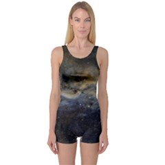 Propeller Nebula One Piece Boyleg Swimsuit