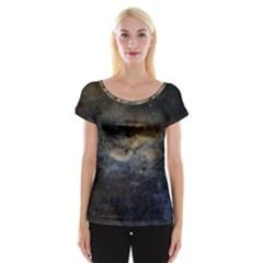 Propeller Nebula Women s Cap Sleeve Top