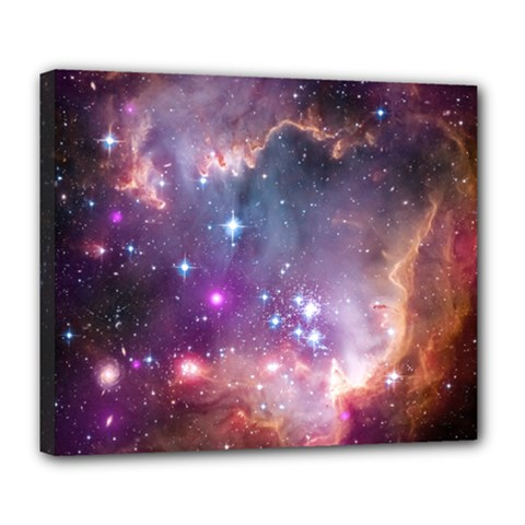 Small Magellanic Cloud Deluxe Canvas 24  x 20