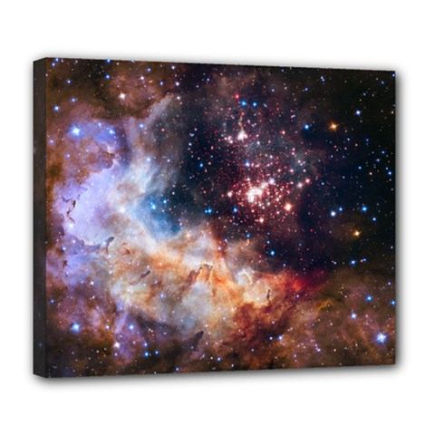 Celestial Fireworks Deluxe Canvas 24  x 20