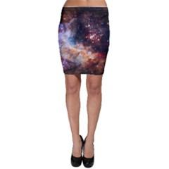 Celestial Fireworks Bodycon Skirt