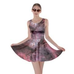 Carina Peach 4553 Skater Dress