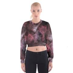 Carina Peach 4553 Women s Cropped Sweatshirt