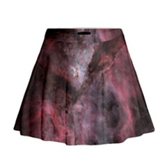 Carina Peach 4553 Mini Flare Skirt