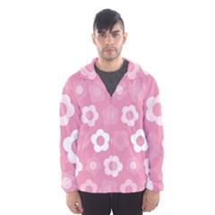 Floral pattern Hooded Wind Breaker (Men)