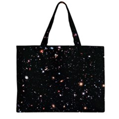 Extreme Deep Field Zipper Large Tote Bag