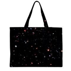 Extreme Deep Field Medium Zipper Tote Bag