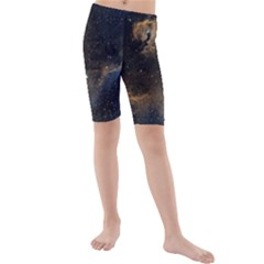 Seagull Nebula Kids  Mid Length Swim Shorts