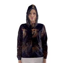 Seagull Nebula Hooded Wind Breaker (Women)